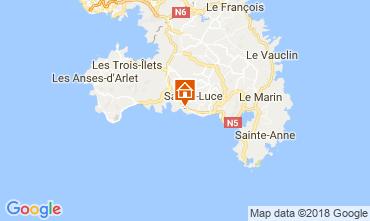 Map Sainte Luce Bungalow 114766