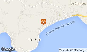 Map Le Diamant Apartment 84275