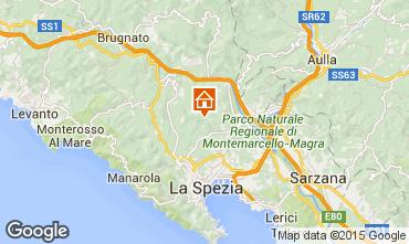 Map La Spezia Villa 78765