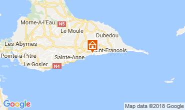 Map Sainte Anne (Guadeloupe) Apartment 116020