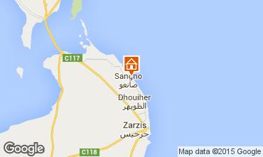 Map Djerba Villa 51947