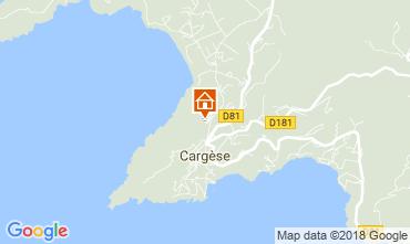 Map Cargèse Apartment 89084