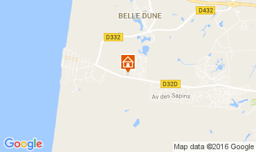Map Quend Plage Mobile home 107540