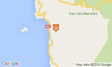 Map Bouillante Self-catering property 103675
