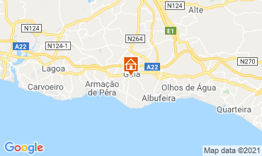 Map Albufeira Villa 83571