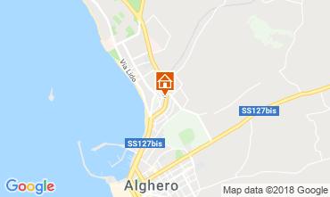 Map Alghero Apartment 87873