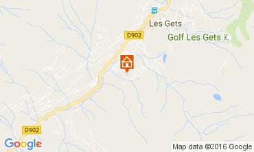 Map Les Gets Chalet 106955