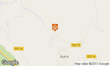Map Auris en Oisans Apartment 63354