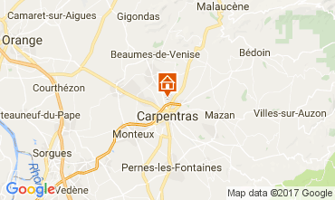 Map Carpentras House 111658