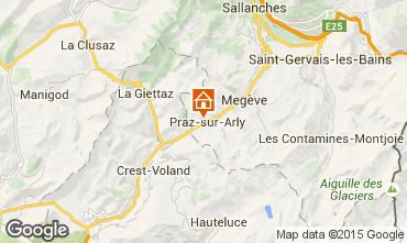 Map Praz sur Arly Apartment 73196