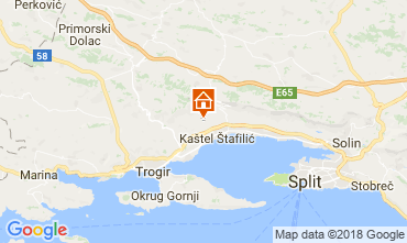 Map Kastel Novi House 114408