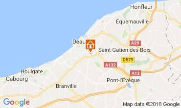 Map Deauville Mobile home 7634