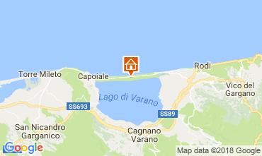 Map Ischitella Apartment 115435