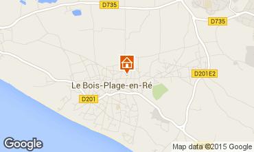 Map Le Bois-Plage-en-Ré House 6969