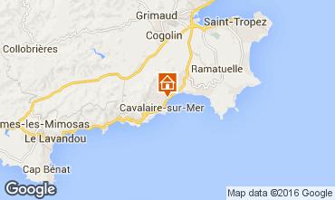 Map Cavalaire-sur-Mer Apartment 102533