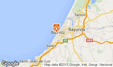 Map Biarritz Flat 15275