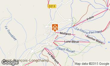 Map Saint François Longchamp Apartment 68463