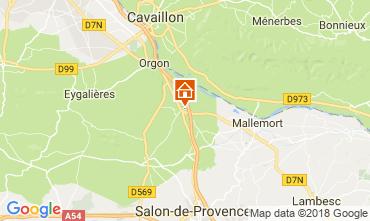 Map Eygalières Villa 76186