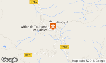 Map Les Saisies Studio apartment 2742