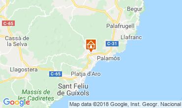 Map Calonge Villa 54458