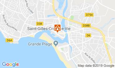 Map Saint-Gilles-Croix-de-Vie House 118736