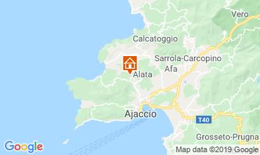 Map Ajaccio House 100009