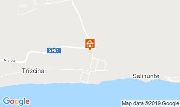 Map Triscina Villa 117906