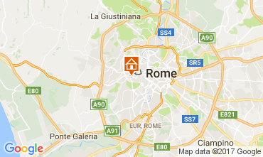 Map Rome Apartment 111684