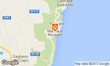 Map Marina di Novaglie Apartment 77582