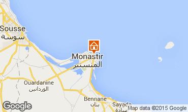 Map Monastir Apartment 87542