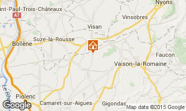 Map Vaison la Romaine Villa 85235