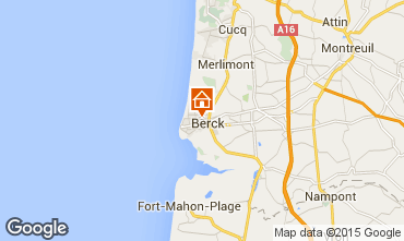 Map Berck-Plage Apartment 86477