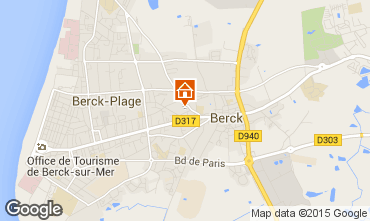 Map Berck-Plage Apartment 86477