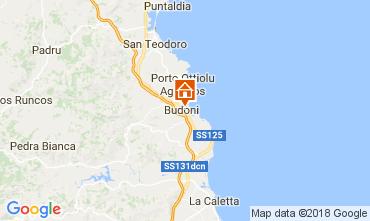 Map Budoni Apartment 111655