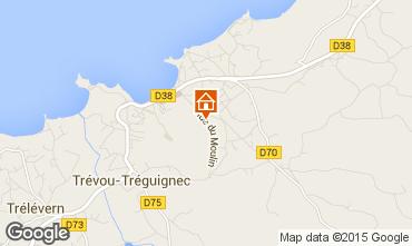 Map Trevou Treguignec Villa 84311