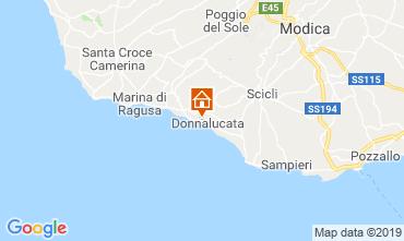 Map Donnalucata Apartment 119665