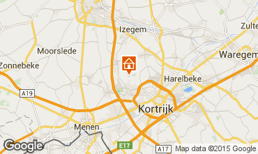 Map Kortrijk Self-catering property 78556