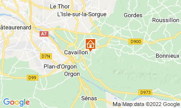 Map Cavaillon Self-catering property 67163