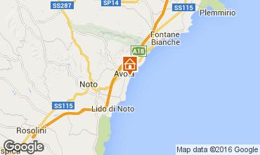 Map Avola Apartment 84043