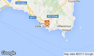 Map Villasimius Villa 97576
