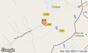 Map Châtel Chalet 800
