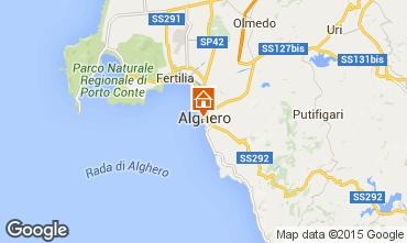 Map Alghero Apartment 98249
