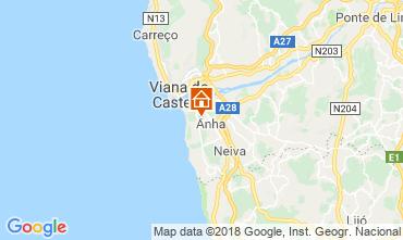 Map Viana Do castello Villa 116545