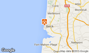Map Berck-Plage Apartment 8873