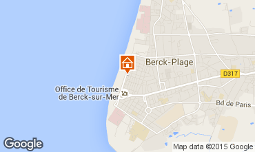 Map Berck-Plage Apartment 8873