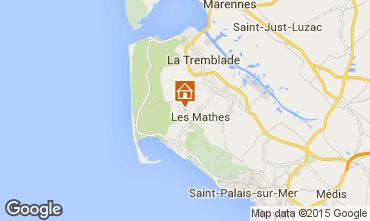Map La Palmyre Mobile home 81106