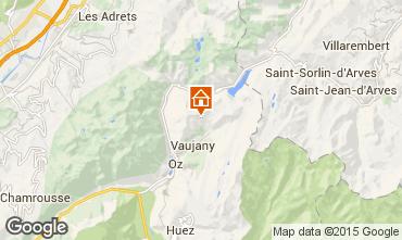 Map Les Sept Laux Apartment 67538
