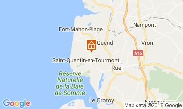 Map Quend Plage Self-catering property 106293