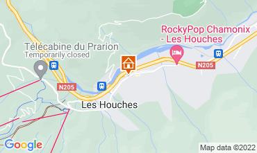 Map Les Houches Studio apartment 1409