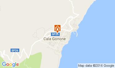 Map Cala Gonone Apartment 106360